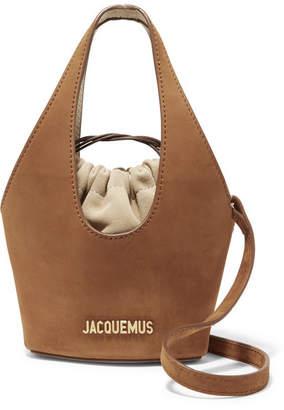 Jacquemus Le Cariño Suede Bucket Bag - Tan