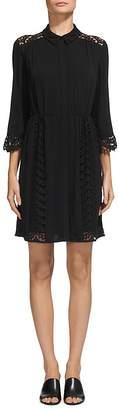 Whistles Lizzie Lace Shirt Dress $349 thestylecure.com
