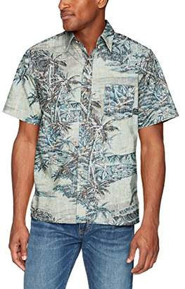 Reyn Spooner Men's Diamond Head Spooner Kloth Classic Fit Hawaiian Shirt
