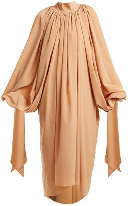 Awake Gathered crepe dress