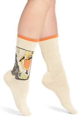 Hot Sox Artist Series - Jane Avril Crew Socks