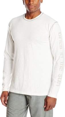 Margaritaville Men's Long Sleeve Washed In The Ocean T-Shirt