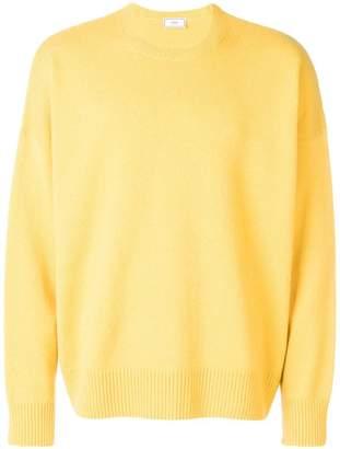 Ami Alexandre Mattiussi oversize crew neck sweater