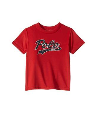 Polo Ralph Lauren Performance Jersey Graphic Tee (Toddler)