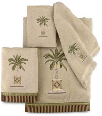 Banana Palm Bath Towel in Linen