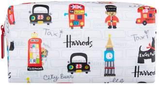 Harrods City Bear Cosmetic Bag