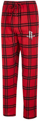 Concepts Sport Men's Houston Rockets Homestretch Flannel Sleep Pants