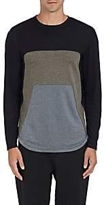 Dyne Men's Roamer Long-Sleeve T-Shirt-Charcoal Size Xl