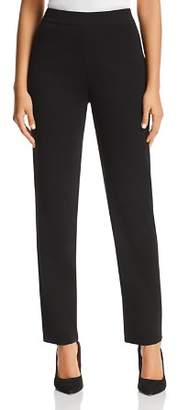 Misook Straight Pull-On Pants