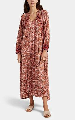Natalie Martin Women's Fiore Floral-Tapestry Maxi Dress