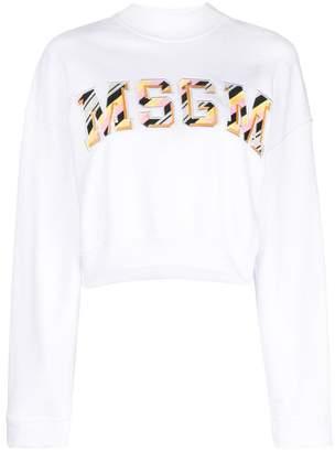 MSGM logo-print sweatshirt
