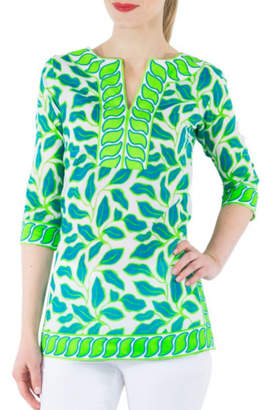 Gretchen Scott Leafy Leaf Tunic