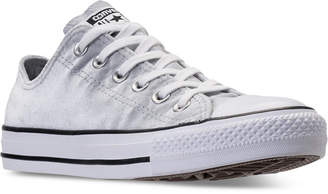 Converse Chuck Taylor Ox Velvet Casual Sneakers from Finish Line