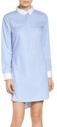Women's Nsr Stripe Shirtdress $72 thestylecure.com