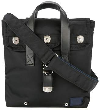 Sacai top handle messenger bag