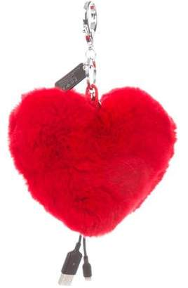 Rebecca Minkoff Heart Shaped Power Puff w/ Tags