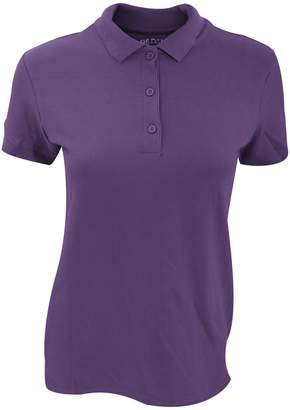 Gildan Womens/Ladies Premium Cotton Sport Double Pique Polo Shirt (M)