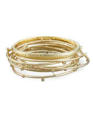 Kendra Scott Tatum Stacking Bracelet Set $110 thestylecure.com