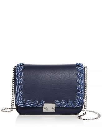 Loeffler Randall Lock Leather Shoulder Bag