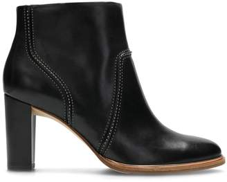 Clarks Ellis Betty Leather Ankle Boots