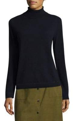 Lafayette 148 New York Sequined Trim Pullover Sweater