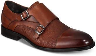 d01c94af935 Alfani Men s Luxton Textured Double Monk Cap-Toe Loafers