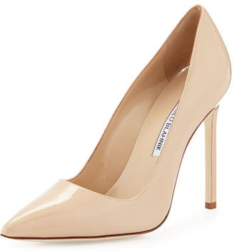 Manolo Blahnik BB Patent 115mm Pump $595 thestylecure.com