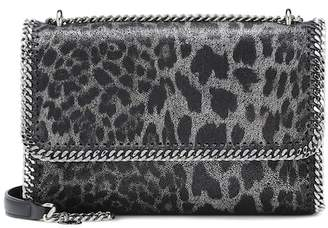 Stella McCartney Falabella leopard shoulder bag