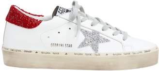 Golden Goose Hi Star Swarovski-Embellished Low-Top Sneakers