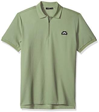 301d6fe9 J. Lindeberg Men's Bridge Logo Polo Shirt
