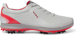 Ecco Biom G2 Leather Golf Shoes - Light gray