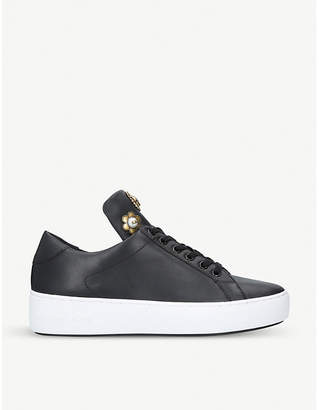 MICHAEL Michael Kors Mindy studded leather trainers