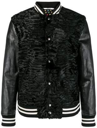 Valentino fur bomber jacket
