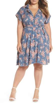 Angie Floral Shirtdress