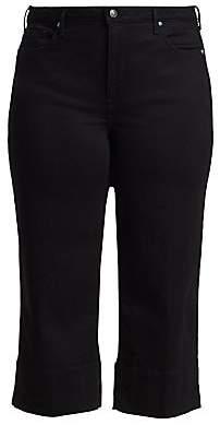 NYDJ NYDJ, Plus Size Women's Wide Leg Denim Capris