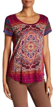 Lucky Brand Persian Carpet Tee