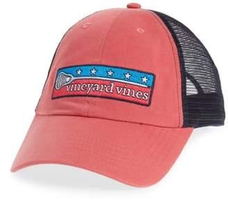 Vineyard Vines Low Profile Lax Patch Trucker Hat