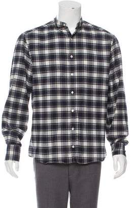 Michael Bastian Patterned Casual Shirt