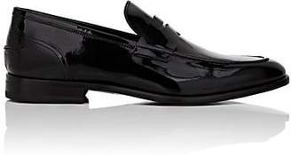 Barneys New York Men's Patent Leather Penny Loafers - Black