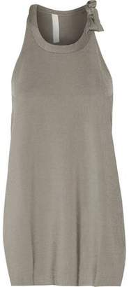 Dion Lee Draped Stretch-Knit Top
