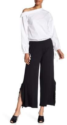 Kensie Ruffle Trim Pants