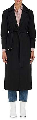 Barneys New York WOMEN'S COTTON CANVAS TRENCH COAT