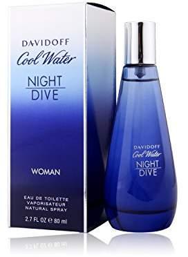 Davidoff Zino Cool Water Night Dive Eau De Toilette Spray for Women