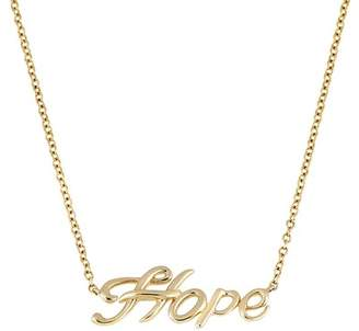 Bony Levy 14K Yellow Gold Hope Pendant Necklace