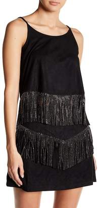 On The Road Angel Sparkly Fringe Tank