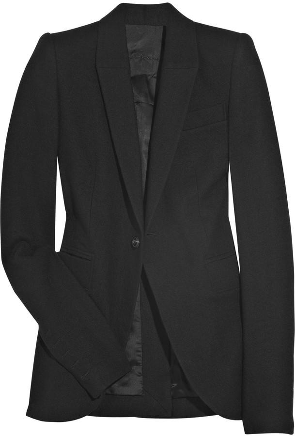 Rick Owens Wool-felt blazer