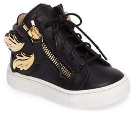 Giuseppe Zanotti Foglia Embellished Zip Sneaker