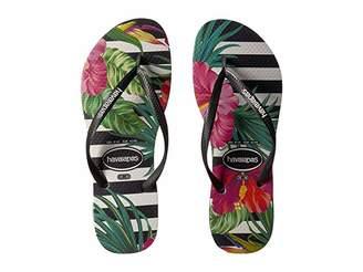 Havaianas Slim Tropical Floral Sandal