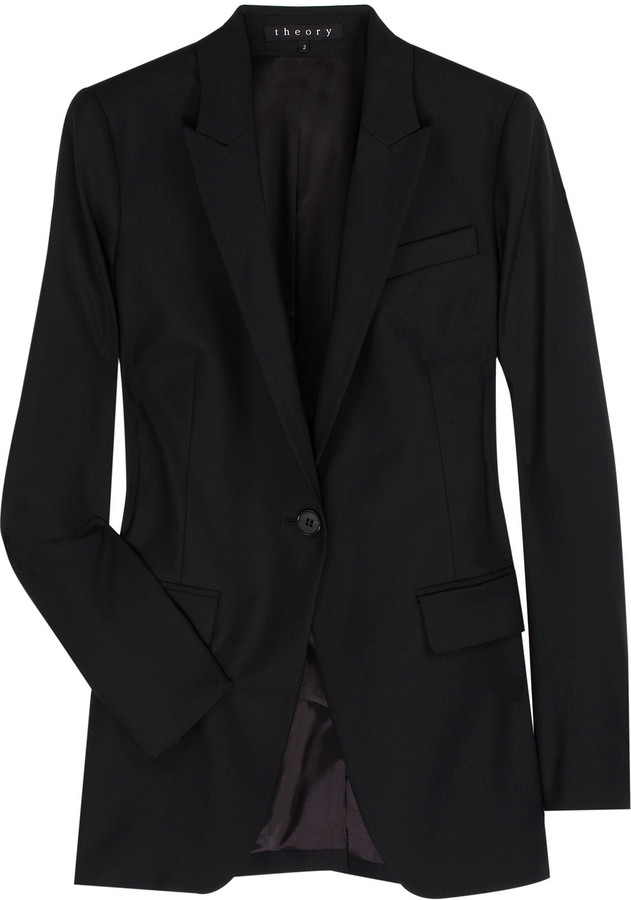 Theory Rialet wool-blend blazer