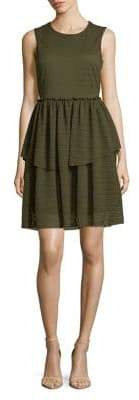 Vero Moda Textured Tiered Dress